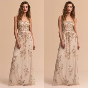 Anthropologie x BHLDN Adrianna Papell Mason Dress